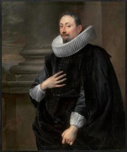 Portret van de Antwerpse schilder Peeter Symons