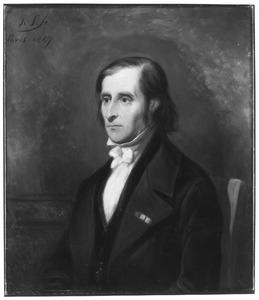 Portret van Johan Christian Dahl (1788-1857)