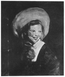 Nederlands meisje met grote hoed
