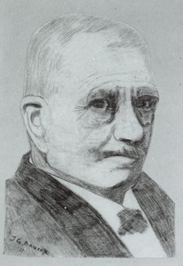 Portret van Cornelis Winkler (1855-1941)