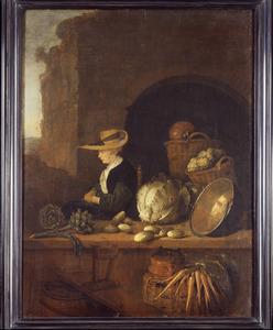 Groentenverkoopster