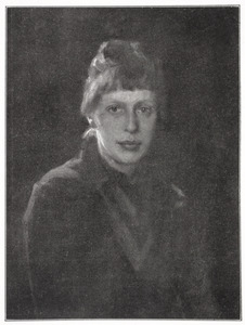 Zelfportret van Walburgia Wilhelmina (Wally) Moes (1856-1918)