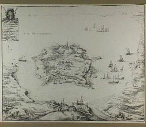 Het eiland Tabarca in de Middellandse Zee