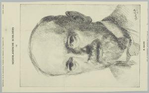 Portret van Marius Bauer