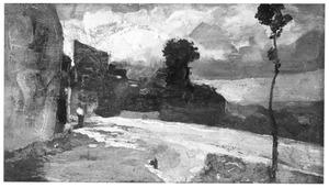 Landschap bij Montmartre