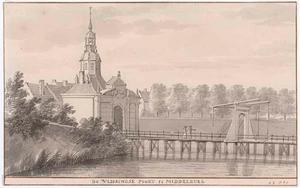 De Vlissingse poort te Middelburg