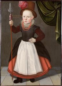 Kinderportret van Simon Meindersz. Conigh (1615-?)