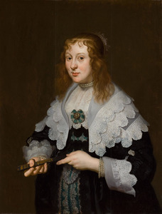 Portret van Alida Bicker (1620-1702)