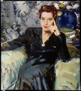 Portret van Fie Carelsen (1890-1975)