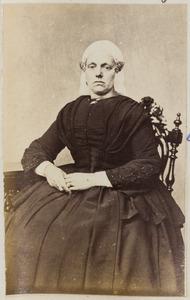 Portret van een vrouw, waarschijnlijk de echtgenote van J.F. Bosch (...-...)