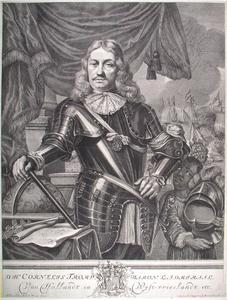 Portret van Cornelis Tromp (1629-1691), met een bediende