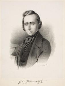Portret van Gustaaf Eduard Voorhelm Schneevoogt (1814-1871)