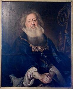Portret van een geestelijke als Aäron