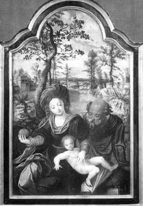 H. Familie in een landschap