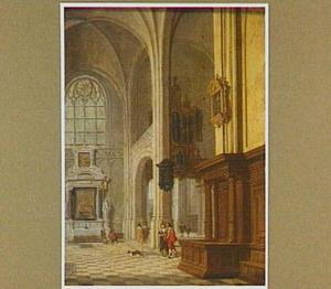 Interieur van een kerk