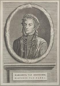 Portret van Margaretha van Habsburg (1522-1586)