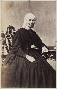 Portret van een vrouw uit familie Dorhout
