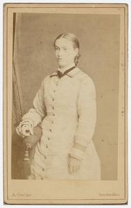 Portret van Anna van Vollenhoven (1862-1924)