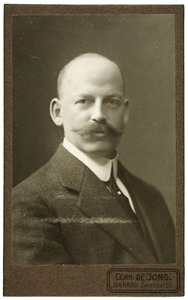 Portret van Wopke Aurelius Knol (1880-1932)