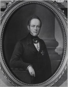 Portret van Otto van Wassenaer (1795-1858)