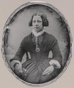 Portret van Margaretha Gijsberta Macquelijn (1813-1883)