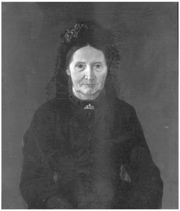 Portret van Geertruida de Cock-Bruins