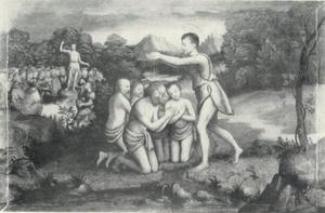 Batseba brengt Abisag tot David om hem zijn laatste dagen te verzorgen