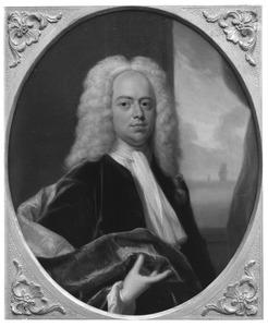 Portret van Samuel Radermacher I (1693-1761)