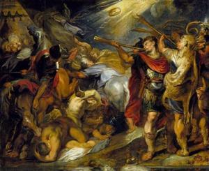 Gideon verslaat de Midianieten (Rechters 7: 16-25)