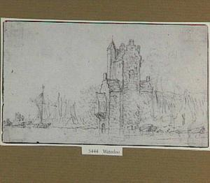 De Pellecussenpoort langs de Vecht bij Utrecht