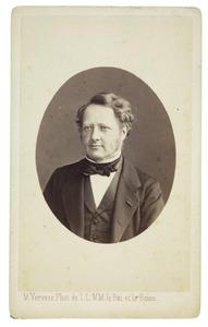 Portret van Jan Heemskerk (1818-1897)