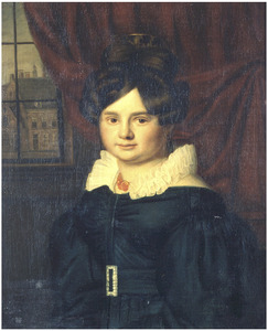 Portret van Maria Wilhelmina Hendrika van Bolhuis