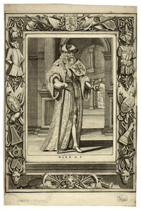 Portret van Dirk I van Holland (0899-0939)