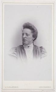 Portret van Jetske van der Hem (1874-1911)