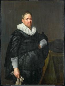 Portret van een man, mogelijk Reinier Pauw (1591-1676)
