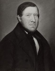 Portret van Auke Luitzen Swieting ( -1858)