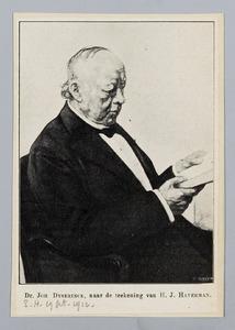 Portret van Dr. Johannes Dyserinck
