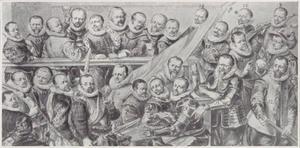 Compagnie van Kapitein Adriaen Pietersz. Raep, Amsterdam