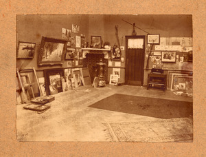 Atelier van Raoul Hynckes