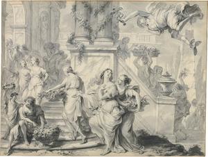 Mercurius wordt verliefd op Herse (Metamorfosen 2:708-832)