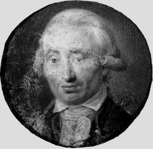 Portret van Johann Werner Gericke (1746-1801)