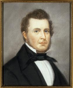 Portret vaneen onbekende man, genaamd Wind