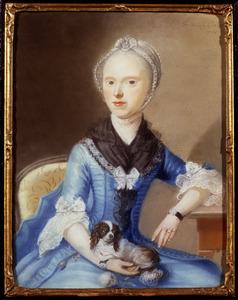 Portret van Adriana Maria van Eijck ( -1802)