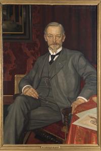 Portret van Cornelis Hofstede de Groot (1863-1930)