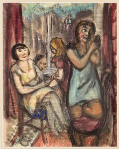 Prostituées aan de Oudezijds Achterburgwal