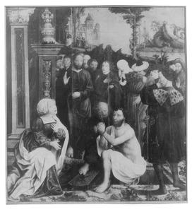 Opwekking van Lazarus (fragment)