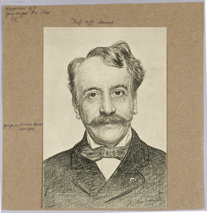 Portret van Prof. A.G. Hamel