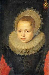 Portret van Corvina Hezenbroek van Hofdijck (1602-1667)