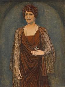 Portret van Johanna Maria Helena Verhoeven (1869-1942)