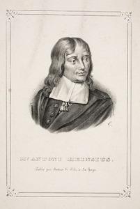 Portret van Anthonie Heinsius (1641-1720)